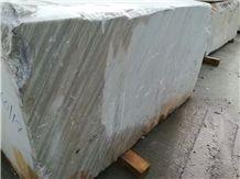 Putin Wooden White Marble Block,Putin Wood Grain Marble Block