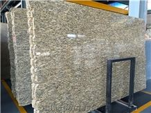 Santa Cecilia Dark Giallo Cecilia Granite Big Slabs, Small Slabs Tiles