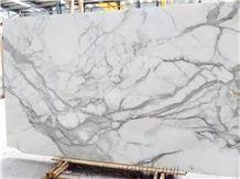 Snow White Marble Tiles & Slabs for Villa Interior Wall Cladding