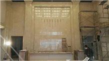 Wall Beige Tile for Hotel, Incense Beige Marble, Fenellin Beige Marble
