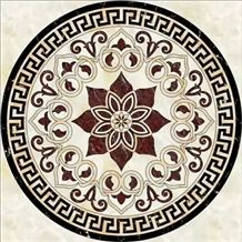 Waterjet Medallions/Floor Decorative/Mosaic Composited Medallions