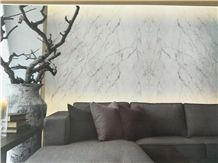 White with Pale Green and Light Grey Veins/Myanmar White Jade Marble