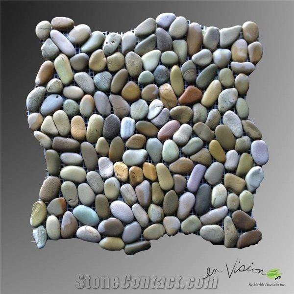 Mini Pebble Golden Enhanced Mosaic