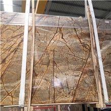 Rainforest Brown Marble, Bidasar Brown Slabs and Tiles Wall Floor