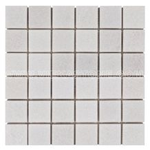 Thassos White,Crystal White Marble Mosaic Tile Square for Wall & Floor