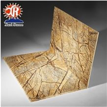 2018 Hot Sell India Marble Rainforest Brown Marble