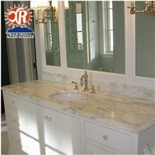 Alabama White Marble Commercial Bath Counter Top