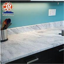 Alabama White Marble Mandir for Home Decoration