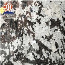 Brazilian Bianco Antico Polished Granite Slabs with Hoar Vain