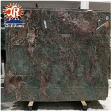 Brazil Amazon Green Granite Slabs & Tiles