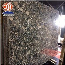 Exotic Granite Brazil Verde Black Marinace Mosaic Black Granite