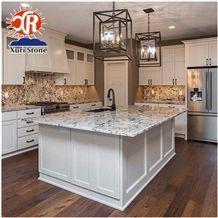 Home Depot Alaska White Granite Countertop Prefab Counter Tops