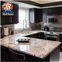 Home Depot Alaska White Granite Countertop Prefab Counter Tops
