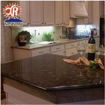Hot Sale Red Tan Brown Granite Kitchen Countertop
