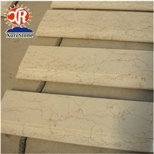 Shell Beige Iran Marble Square Meter Prices