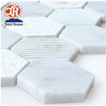 Style Small White Brick Mosaics Small Color Wall Tiles Kitchen Floor