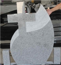G603 Grey Granite Tombstones Headstones