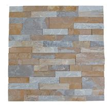 Natural Stone Rusty Culture Slate Venner/ Ledges for Wall Cladding