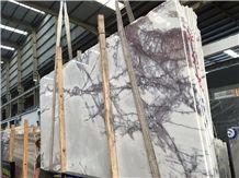 White Incense Plum Marble Slabs&Tiles, Chanel Plum Marble,Floor Tiles