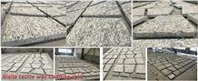 Giallo Santa Cecilia Light Granite Split Wall Cladding Wall Stone