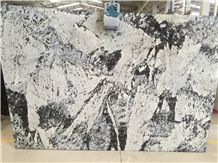 Cartier Granite Slabs & Tiles, Brazil White Granite