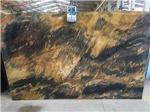 Jacaranda Oro Quartzite Slabs
