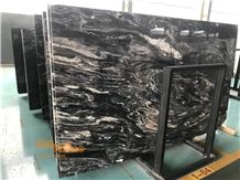 Ice Stone Own Quarry China Black Wave Marble Cheap Price