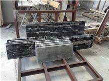 China Black & White Veins Marble Silver Dragon Marble Tiles