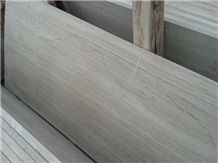 China White Wood Grain Marble Tiles China Serpeggiante Marble Tiles