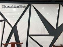 Beautifully Bianco Dolomiti Art Panels,Star White Marble Art Panels