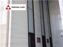 Star White Marble Commercial Project,White Marble Wall Tiles Project