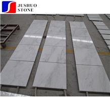 Bianco Esterno Marble,Sichuan White Marble Tile with Little Black Vein
