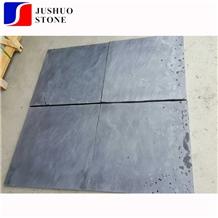 Charcoal China Jiangxi Black Ornamental Slate Tiles Construction Stone