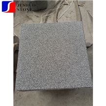 Hubei White Granite Polish G603 Linen Stone Tile for Inner Decoration