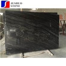 Kenya Black Marble Slab with White Veins for Cut to Size,Wall Tiles