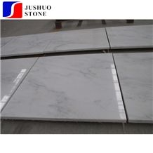 Marmo Bianco Esterno Marble Tiles for Train Station Wall Cladding