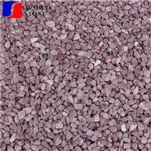 Multicolor Pebble Stone Striped Shape for Build Material Application