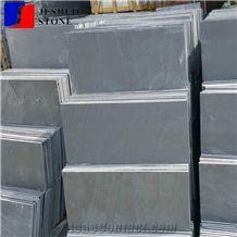 Natural Split Surface Xingzi Factory Price Black Slate Flooring Tiles