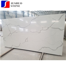 New Calaeatta White Quartz,Marmo Calacatta Blanco Manmade Stone