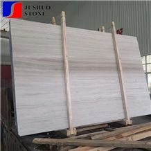 Putin Wood,White Wooden Veins/Grains Marble Slab for Pool Wall Capping