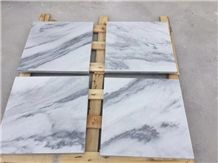 Blue Sky White China Marble Wall Panel Tiles,Slab Floor Paving Hotel