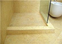 Sunny Marble Shower Tray Egypt Cream Marbre Bathroom Shower Bases Floor Covering