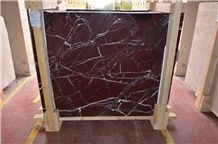 Rosso Levanto Marble Slabs & Tiles, Turkey Red Marble
