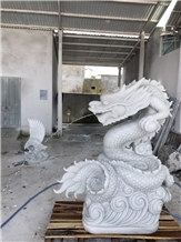 Dragon Statue, Stone Sculpture Manufacturer, Handicaft