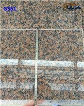 G561 Baltimoral Red Natural Pink Granite Tiles