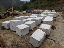 Jupiter Grey Marble Block, Viet Nam White Marble