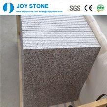 1.5cm Pear Flower Red Color G383 Granite Polished Tiles 30x30