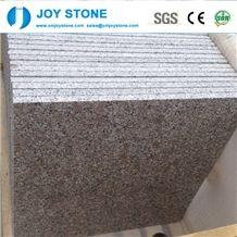 1cm Pear Flower Red Color G383 Granite Polished Tiles 60x60