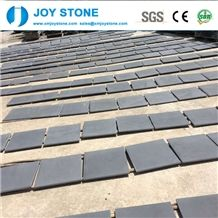 Chinese Cheap Custom Size Tiles Hainan Black Basalt 60x30