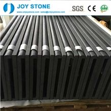 Chinese Cheap Custom Size Tiles Hainan Black Basalt 60x60
